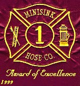 Minisink  Hose Award of Excellence