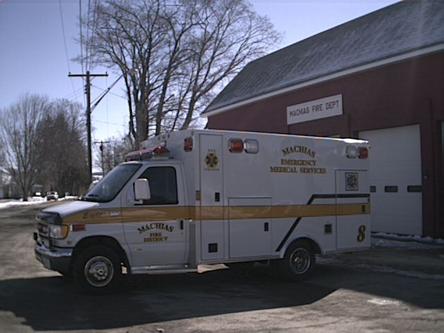 Machias 8 (ambulance)